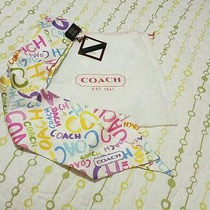 COACH Ponytail/ Handbag Scarf